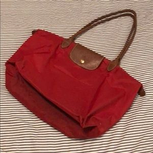Longchamp tote, size L, Red